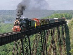 High Bridge In Boone Iowa (highest train bridge US) - By Kate Shelley