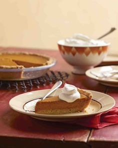 Pumpkin Tart with Press-In Shortbread Tart Shell Recipe