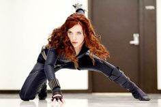 She's actually my favorite Avenger, next to Loki. No wait... right.  She's my favorite Avenger.
