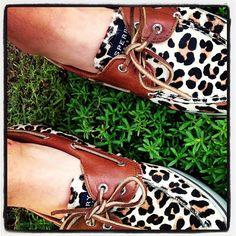 ♥♥ Cheetah Sperrys!!