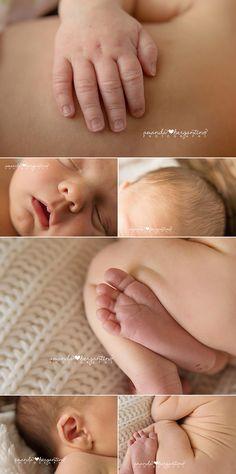 Newborn Boy Photography Natural Organic Details