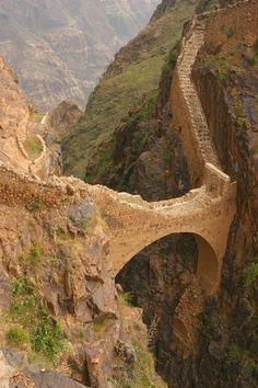The Shahara Bridge, Yemen