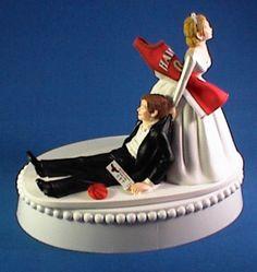 Atlanta Hawks Cake Topper