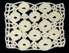 Crochet : Punto Fantasia en Circulos.  Parte 1 de 2