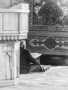 Praying by PetraInvernizzi  city travel istanbul turkey architecture building mosque fatih İstanbul PetraInvernizzi