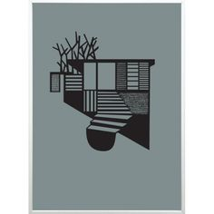 Tree House plakat fra Kristina Dam - KUNST - DesignFund