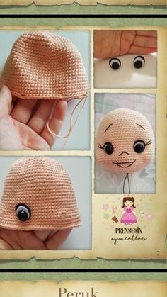 Octopus Crochet Pattern, Crochet Turtle, Crochet Dolls Free Patterns, Baby Knitting Patterns, Doll Patterns, Crochet Baby Toys, Crochet For Boys, Crochet Bunny, Tutorial Amigurumi