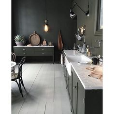 The mix kitchen.Designer unknow #interior #design #inspiration #kitchen #interiordesign #style #home #interi0rdesign