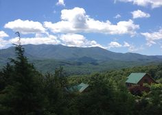 This could be your view from one of our cabins in the Smoky Mountains