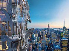 Arquiteto cria arranha-céu escultural para Manhattan