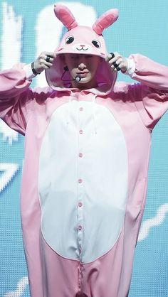 Wonho rabbit #Wonho #monstax #cute <3