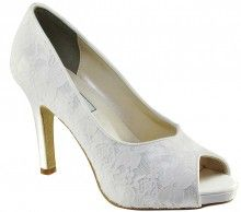 Touch Ups Catalina Dyeable Wedding Shoes - Elegant Steps £89
