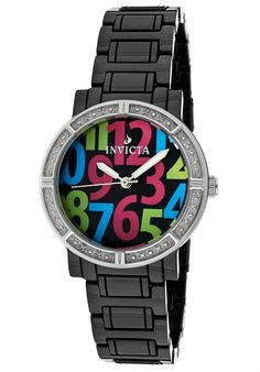 Price:$229.00 #watches Invicta 10278, Collectively matching anyone's style, this classy Invicta, with its cool, bold design, will eleantly go with any suit.