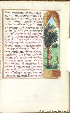 Book of Hours, MS M.276 fol. 53r - Images from Medieval and Renaissance Manuscripts - The Morgan Library & Museum