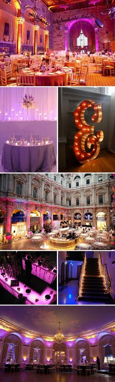 All The Colours Of The Rainbow - lovely colored lighting ideas
