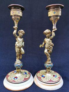 Tiered Cakes, Silver Enamel, Bronze, Figurative