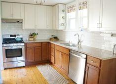 Two Tone kitchen reveal