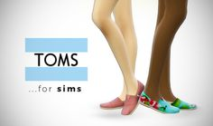 My Sims 4 Blog: Shoes - Flats