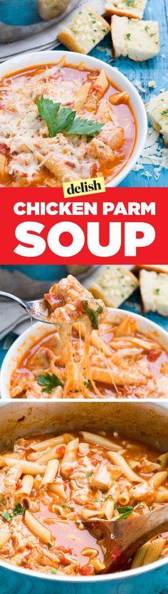 Chicken Parm Soup