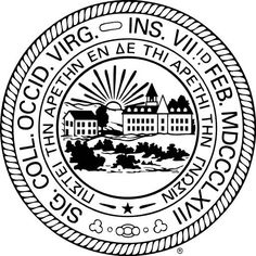 West Virginia University Mountaineers seal