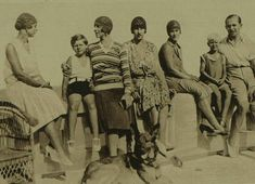 Young Prince Philip and family: Princess Theodora of Greece (Prince Philip's sister); King Michael of Romania; Crown Princess Helen of Romania (King Michael's mother); Princess Irene of Greece; Princess Margarita of Greece (Prince Philip's sister); Princess Beatrice, Royal Princess, Young Prince Philip, Greek Royal Family, King George, Historical Photos, Denmark, Greece, Sisters