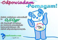 """Akcja """"Odpowiadam - POMAGAM!"""" - Każda udzielona odpowiedź na portalu www.mampytanko.com to pieniądze na budowę przedszkola dla niepełnosprawnych dzieci. Odpowiadaj - POMAGAJ !"""