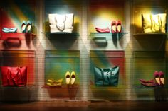Cole Haan NY, color blocking, pinned by Ton van der Veer