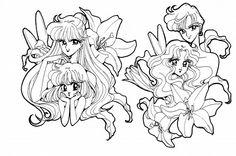 Naoko Takeuchi, Toei Animation, Bishoujo Senshi Sailor Moon, Hotaru Tomoe, Setsuna Meioh