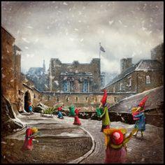 'The Christmas Bringers' 2015 Matylda Konecka www.matyldakonecka.com
