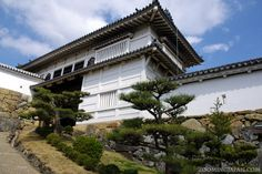 One of the outer gates of Himeji Castle. (Hyogo Prefecture) #japan #photo #zoomingjapan #castles