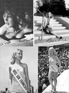 "Barbara Eden, best known for her role in ""I Dream of Jeannie"" was Miss San Francisco 1951 and competed in the Miss California pageant - Google Search"