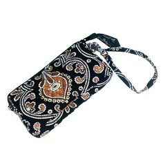 Vera Bradley Wristlet Great condition. Never been used. Black,  white and brown. Vera Bradley Bags Clutches & Wristlets
