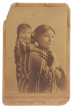 American Indian Mother and Child #vintage #photography #portrait