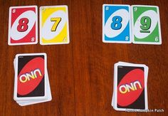 Uno math games - this whole site is awesome!!!