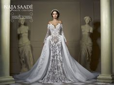 "Naja Saade | ""Prima Donna"" collection- Bridal 2017"