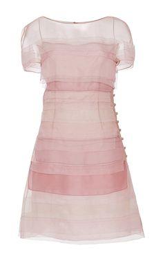 Tiered Panel Dress by Carolina Herrera for Preorder on Moda Operandi