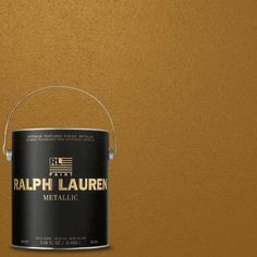 Ralph Lauren 1 gal. Cloth of Gold Metallic Specialty Finish Interior Paint-ME137 - The Home Depot