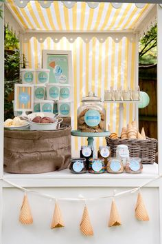 Icecream Party by Kiss My Cakes #IScream4ID @Denise Fuller Delight #summer