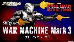 ToyzMag.com » S.H.Figuarts War Machine Mark3 – les images officielles