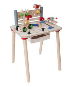 Take a look at this Workbench by PlanToys on #zulily today!
