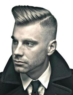 mens cuts with part   Mens 60s Haircut /Side Part Tips   Theeivyleague.com