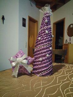 Papierröllchenbaum