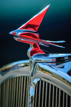 MAGNET Hood Ornament PHOTO MAGNET LINCOLN 1932