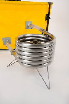Collapsible Hot Tub and Coil Combo