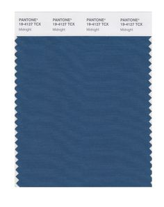 One of Real Simple Online's designated four universally flattering colors - Pantone Smart 19-4227X Color Swatch Card, Indian Teal