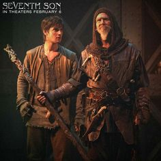 Ben and Jeff as Tom and Master Gregory in Seventh Son!