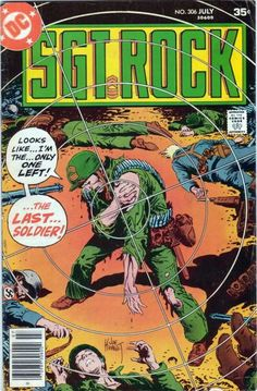 Cover Design by Joe Kubert via YouTheDesigner.com