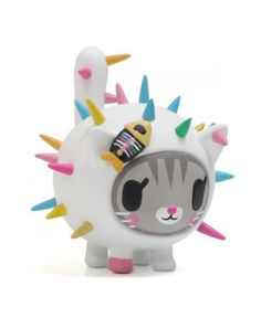 Tokidoki Carina Vinyl Toy will get ya purring for Tokidoki cactus friends. www.dollskill.com