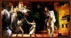 Explore el Castillo Medieval y entre en el mágico mundo de los caballeros de la Mesa Redonda. Este es El Catillo de San Miguel, un autentico mundo medieval que recrea  la vida de esa epoca