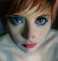 Brian Scott is a self-taught illustrator coming from Edinburgh, UK. He's working most of the time with colored pencils delivering breathtaking realistic portrai Colored Pencil Portrait, Color Pencil Art, Brian Scott, Polychromos, Realism Art, Colorful Drawings, Portrait Art, Drawing Portraits, Female Art